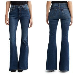 Hudson Holly Flare Jeans High Rise Denim Size 30
